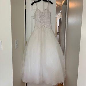 Mori Lee Ballgown Wedding Dress